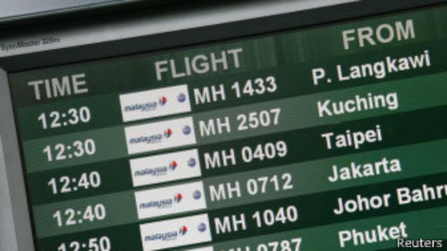 Tablero de vuelos