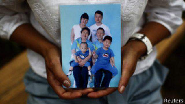 Familiares desaparecidos
