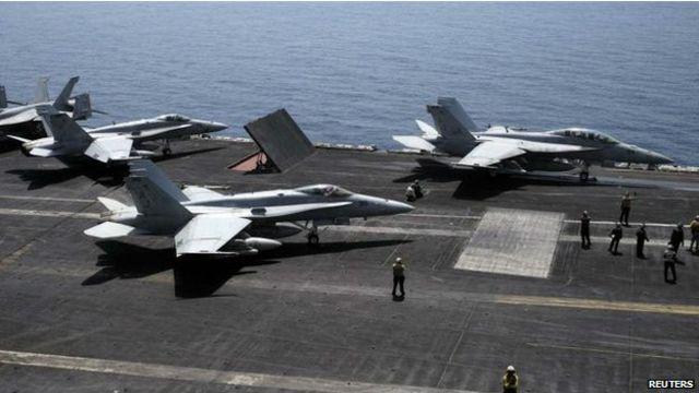 """أوباما يقول إن تحالفا دوليا، وليس أمريكا وحدها، سوف يتولى تنفيذ خطته لمواجهة تنظيم """"الدولة الإسلامية""""."""