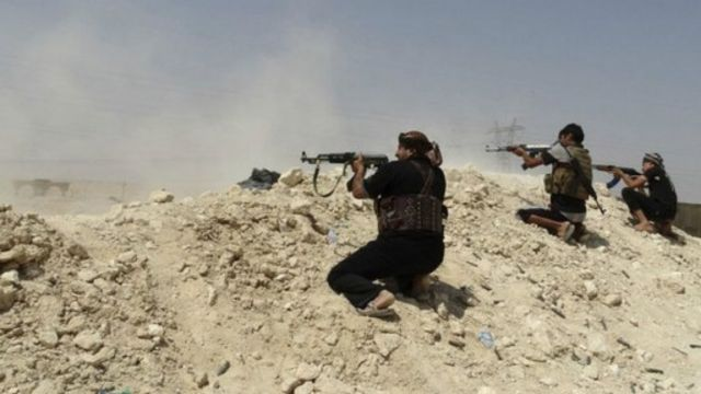 """شنت القوات المشتركة العراقية هجوما واسعا على مقاتلي تنظيم الدولة الإسلامية في """"حديثة"""""""