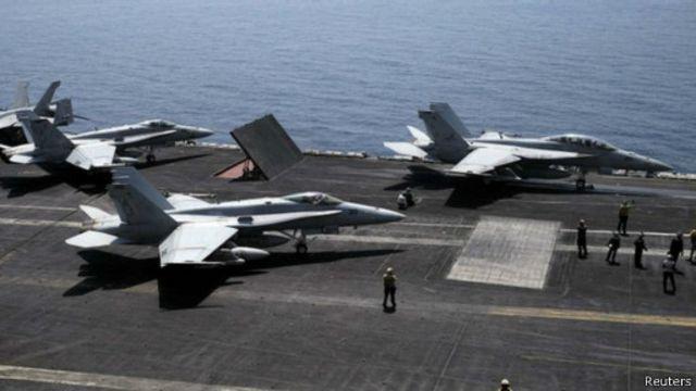 وسعت القوات الأمريكية مؤخرا عملياتها الجوية لتشمل مواقع يسيطر عليها تنظيم الدولة الإسلامية في الأنبار