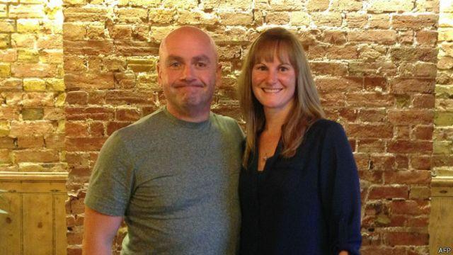 Russell Edwards y Karen Miller
