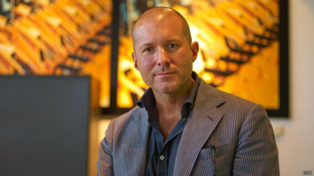 Jonathan Ive, jefe de diseño de Apple.