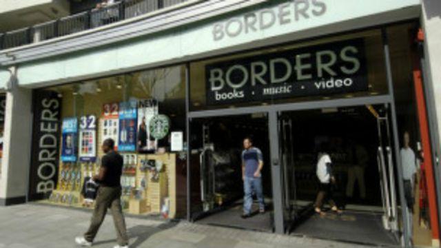 La cadena de libererías Borders fue otra víctima de los competidores digitales.