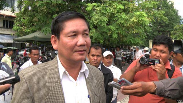 """Ông Thach Setha nói ông muốn chính phủ Việt Nam phải """"tôn trọng chủ quyền"""" của Campuchia"""