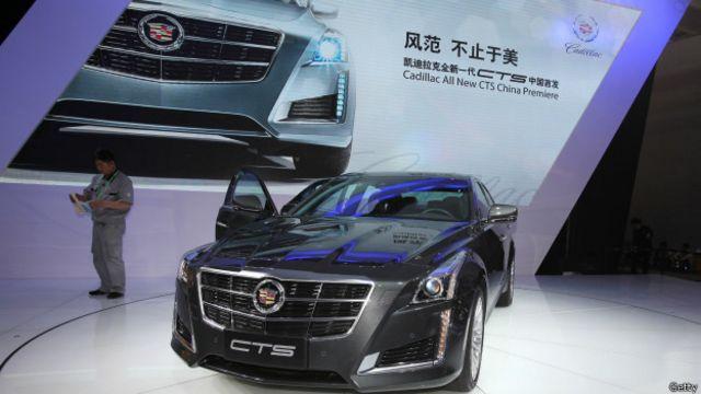 Cadillac en China