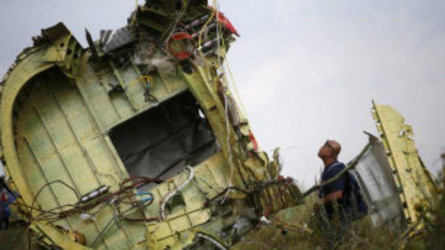 MH17 ngo yarashwe ibisasu vyinshi