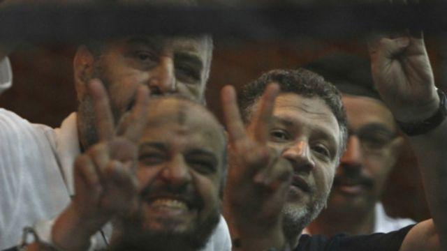 شنت السلطات المصرية حملة ضد أعضاء جماعة الإخوان المسلمين وأنصارها منذ عزل مرسي