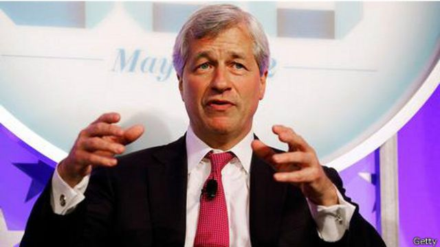 Jamie Dimon, CEO de JP Morgan