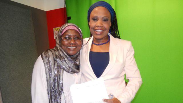 Suwaiba Ahmed na daga cikin wadanda suka kalli yadda aka gabatar da shirin BBC Hausa na farko a talabijin.