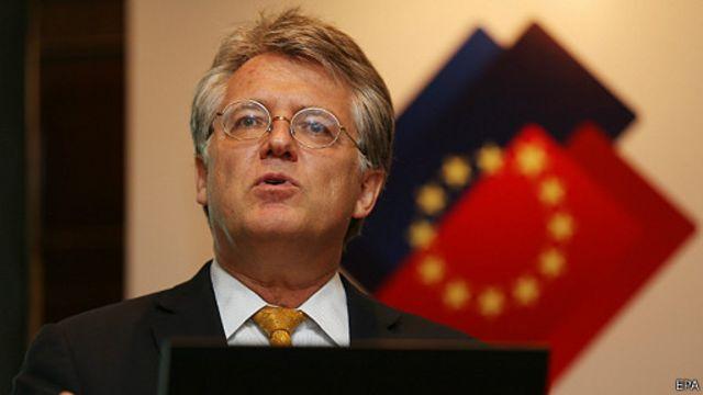 中國歐盟商會主席伍德克