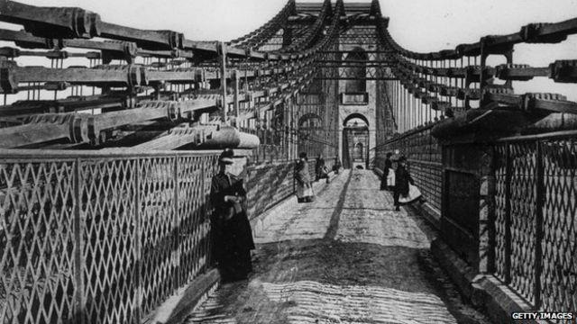 El puente Menai Straits