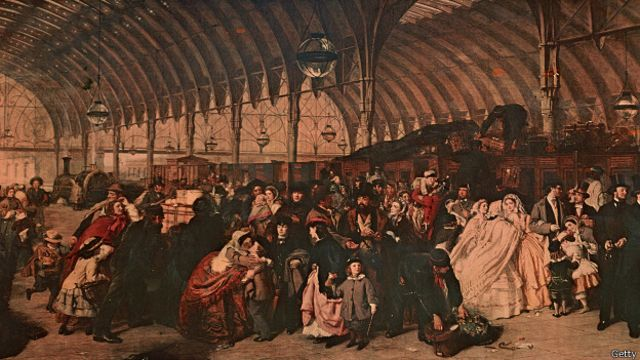 Paddington Station 1855