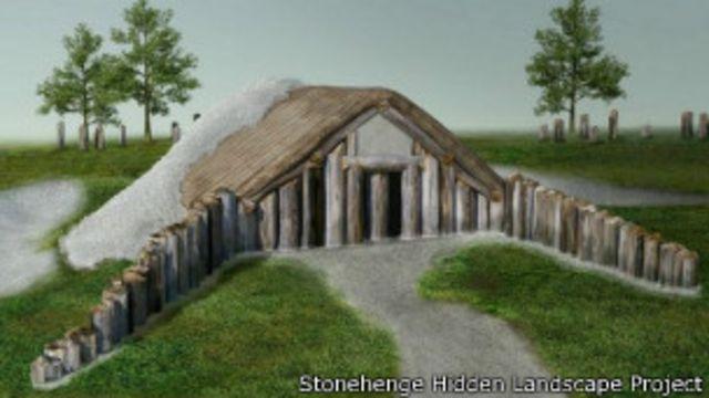 Edificio de madera sepultado bajo Stonehenge