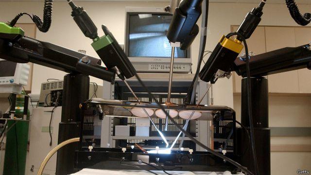Robot para cirugía
