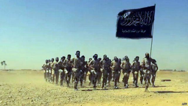 Phiến quân IS đang chiếm nhiều vùng lãnh thổ ở Syria và Iraq