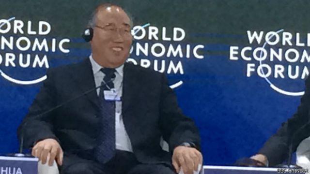 中國國家發改委副主任解振華(BBC中文網照片)