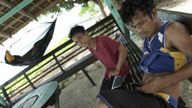 Según Manila, en Pagasa viven 200 personas.