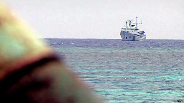 El poderío naval chino crece a enorme velocidad.