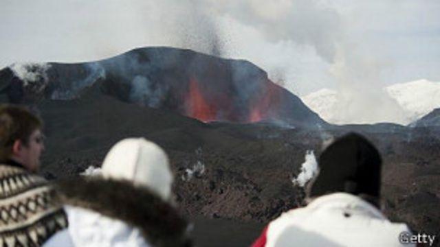 Volcan, Islandia