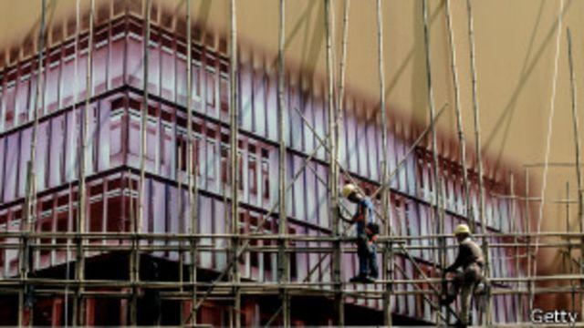 Construcción en China.