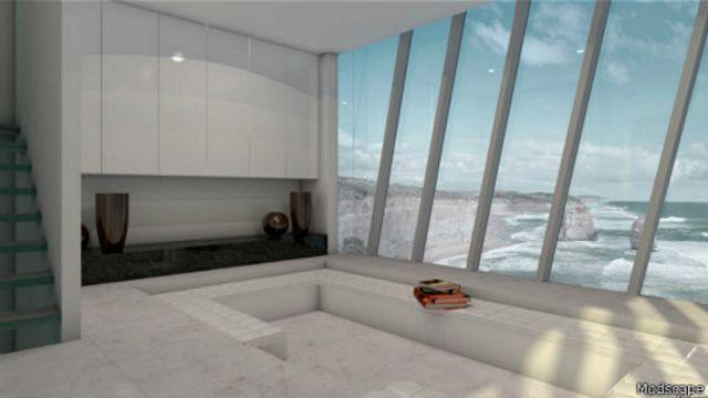 La decoración minimalista busca resaltar las vistas.