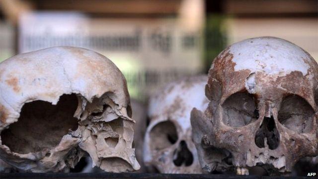 Những chứng tích về tội ác của Khmer Đỏ vẫn còn đó