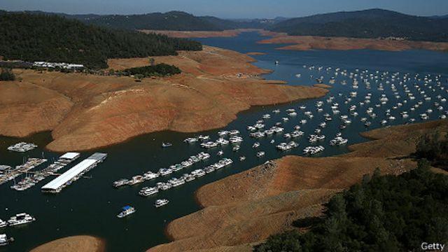 Lago Oroville California