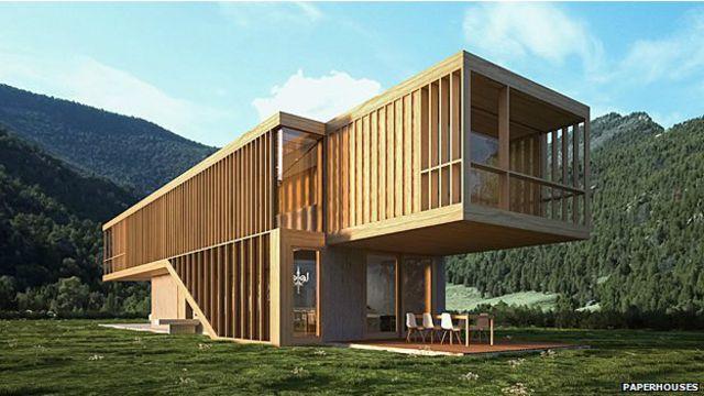 Diseño de Paperhouses