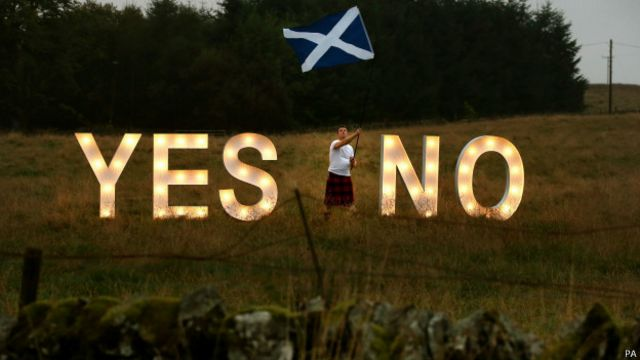 苏格兰独立公投