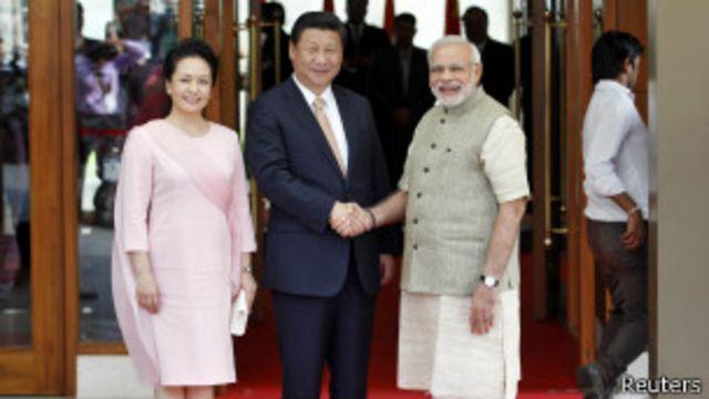 တရုတ် သမ္မတကို မိုဒီက ဂူဂျာရတ်မှာ ကြိုဆို