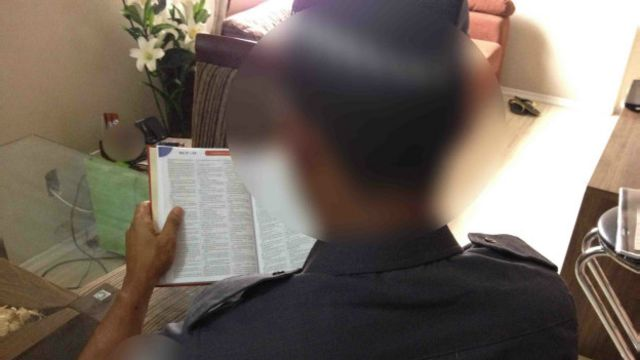 Policial escondeu sua profissão de colegas da faculdade de Direito; ele lamenta preconceito e generalizações contra PMs.