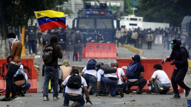 Protestas antigubernamentales.