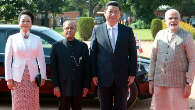 Ông Tập Cận Bình và phu nhân đã có chuyến công du Ấn Độ trong ba ngày