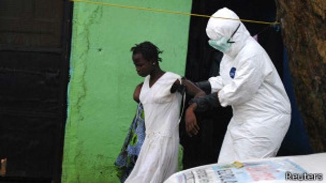 Mujer sospechosa de estar infectada con ébola