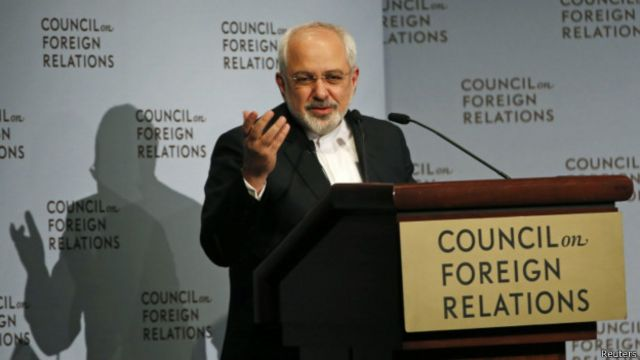 Mohhamad Javad Zarif (foto de archivo)