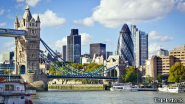 Panorámica de Londres.