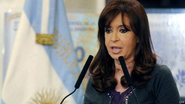 Presidenta de Argentina, Cristina Fernández.