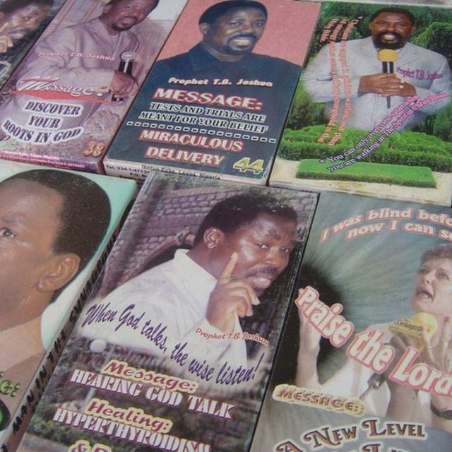 Joshua huandika vitabu na kutengeza kanda ambazo zinauzwa kupitia Internet