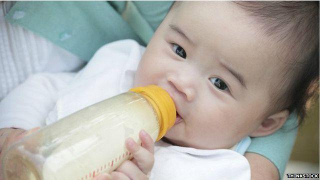 Bebé chino.