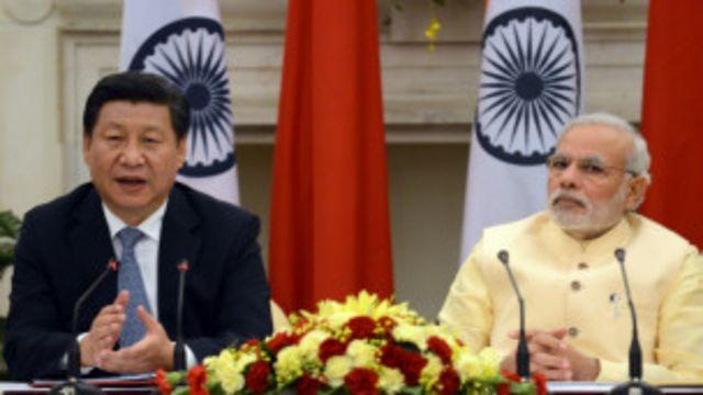 मोदी और चीनी राष्ट्रपति