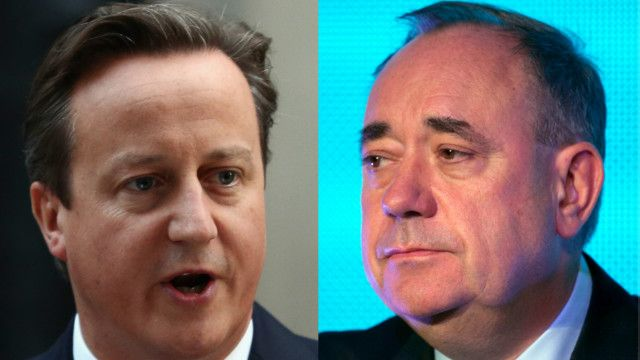 苏格兰公投反对独立派胜出,统独阵营领导人对公投结果做出反应。