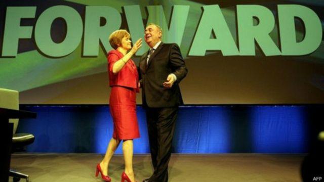Phó Thủ hiến thứ nhất, bà Nicolas Sturgeon có thể sẽ thay thế ông Alex Salmond