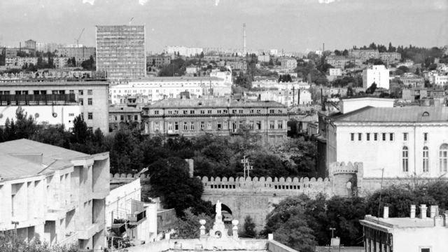 باکو په ۱۹۸۶ کال.
