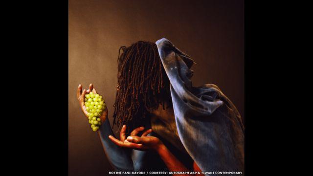 Grapes, 1989 Rotimi Fani-Kayode, cortesía de Autograph ABP & Tiwani Contemporary, Londres