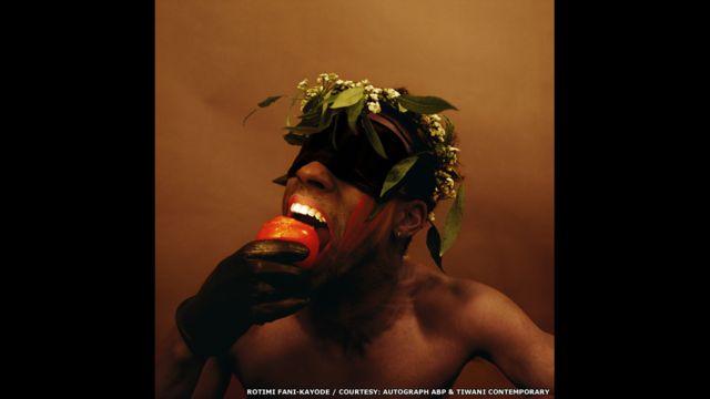 Untitled, 1987 Rotimi Fani-Kayode, cortesía de Autograph ABP & Tiwani Contemporary, Londres