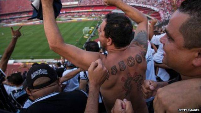 Torcedores do Corinthians (Getty)