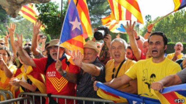 Partidarios de la independencia caltana