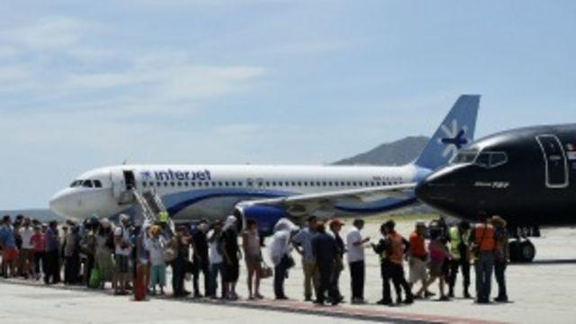 Buena parte de los turistas varados ya han sido evacuados. Foto Getty Images.