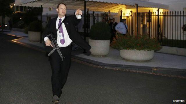 Agente de seguridad en la Casa Blanca